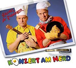 """Das Album """"Konzert am Herd"""" von Zaches & Zinnober"""