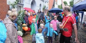 Kann 'ne feuchte Angelegenheit sein: Open-Air im Herbst!