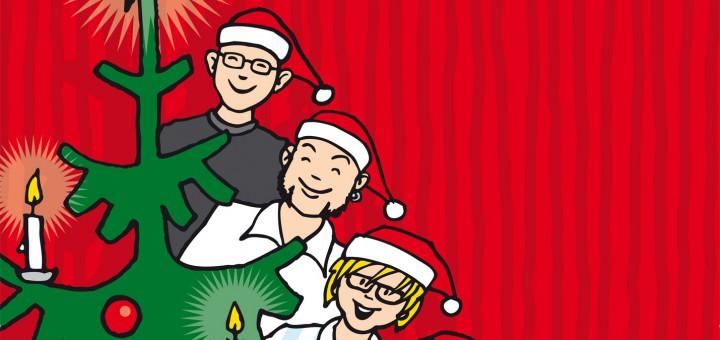 Randale unterm Weihnachtsbaum