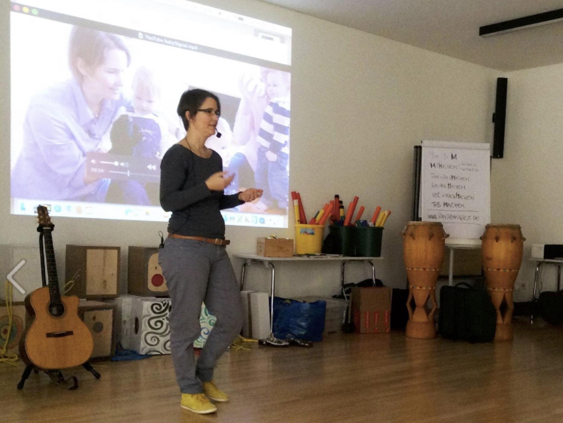 Wiebke Gericke, Diplompädagogin und Gründerin von babySignal