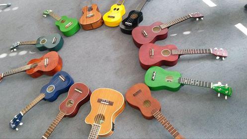 Ukulelen - die kleinen Schwestern der Gitarre