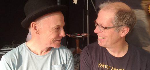 """Robert Metcalf und Matthias Meyer-Göllner reden über die """"poetische Seele"""" des Künstlers"""