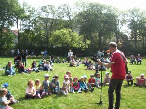 Matthias Meyer-Göllner auf dem Kindermusikfestival in Wangerooge 2016