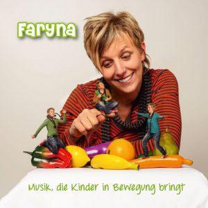 Die Kinderliedermacherin Sandra Faryn alias Faryna