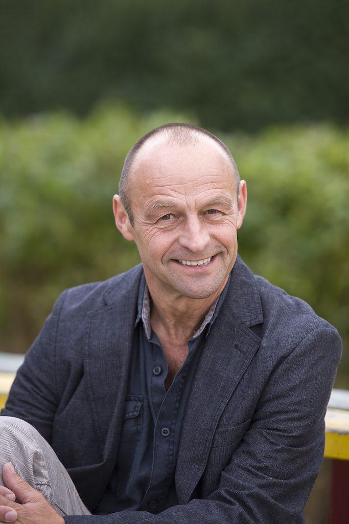 Festival-Organisator und Lokalmatador Helmut Meier