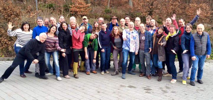 Mitglieder des Netzwerks Kindermusik.de auf ihrem alljährlichen Treffen