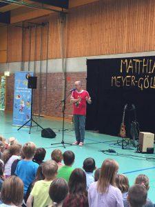 """Matthias Meyer-Göllner beim """"Tag des Kinderliedes"""" 2016"""