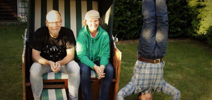 Die Kinderliedermacher Matthias Meyer-Göllner, Astrid Hauke und Gerd Grashaußer (v.l.n.r)