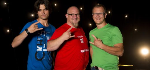 KrAWAllo Liveband: Sven Kreinberg, Sebastian Dold und Jens-Henning Gläsker (v.l.n.r.)