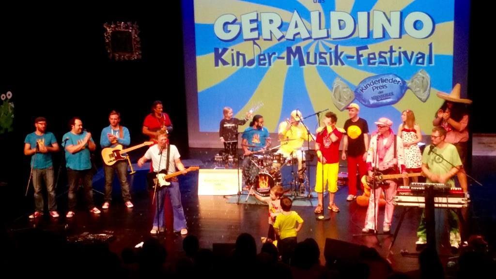 Geraldinos 18. Kinder-Musik-Festival in der Tafelhalle in Nürnberg