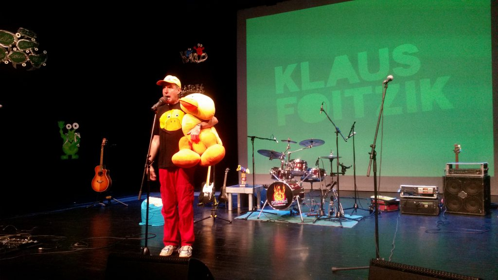 Kinderliedermacher Klaus Foitzik