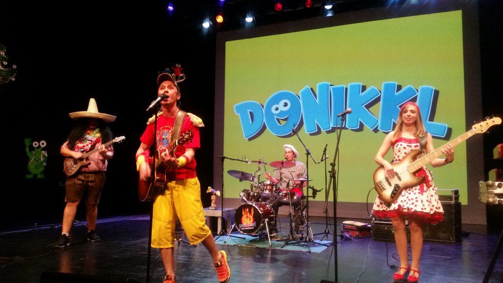Donikkl bei seinem Auftritt in Nürnberg