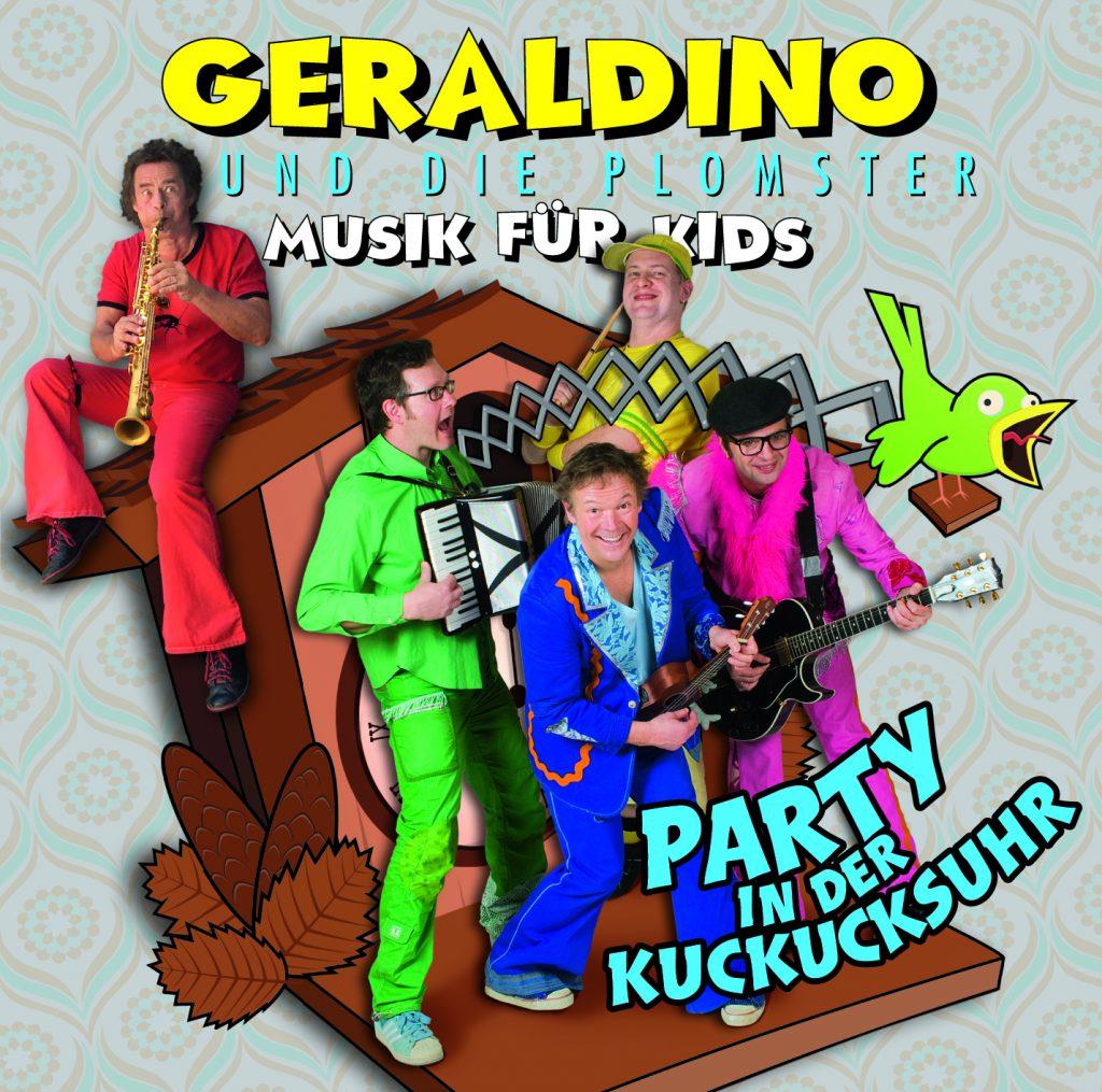 """Musik für die ganze Familie: """"Party in der Kuckucksuhr"""" von Geraldino und Die Plomster"""