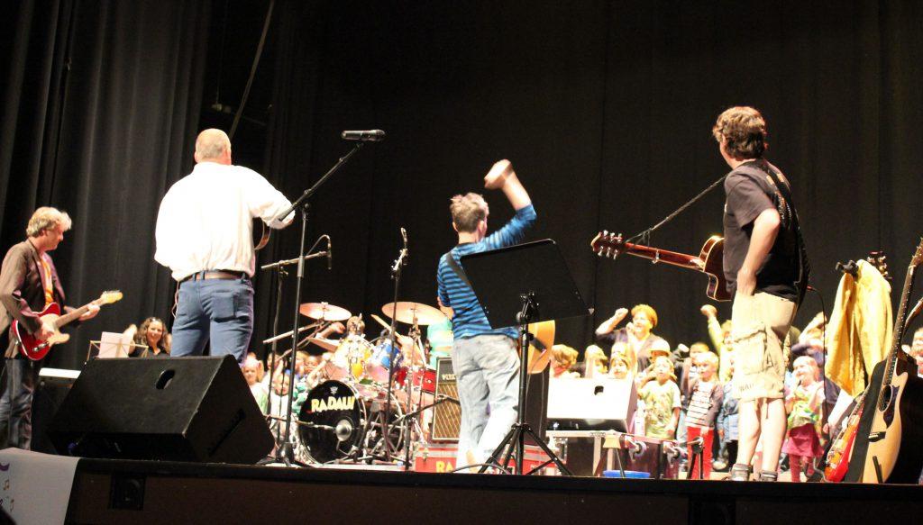 Auf Kinderkonzerten findet eine hohe soziale Interaktion statt.