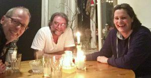 Im Einsatz für mehr gute Kindermusik: Kathrin Thiele und Ralf Kleinschmidt im Gespräch mit Matthias Meyer-Göllner