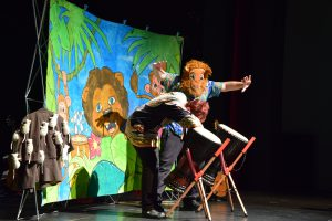 Woffelpantoffel beim Kindermusikfest der Kulturen in Meppen