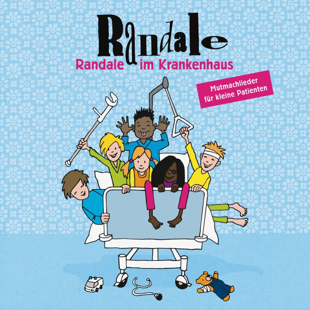 """""""Randale im Krankenhaus"""" heißt die neuste CD der Bielefelder Kinderliederrockband Randale."""