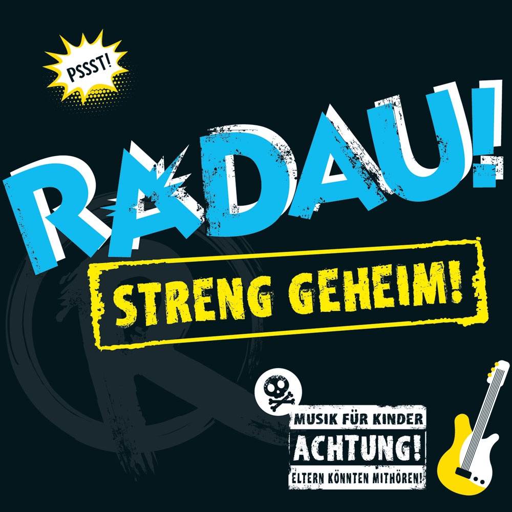 """Auf der Suche nach dem Code: Die neue Radau-CD ist """"streng geheim!"""""""