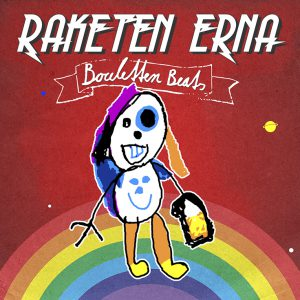 "CD-Cover: Raketen Erna - ""Bouletten Beats"""