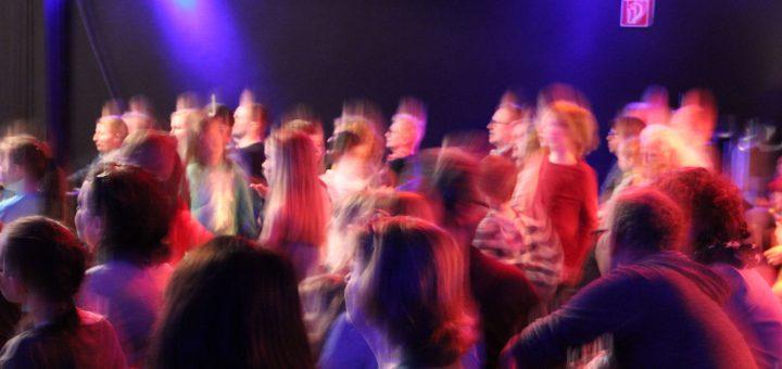 Begeistertes Publikum beim Bunte Töne Festival